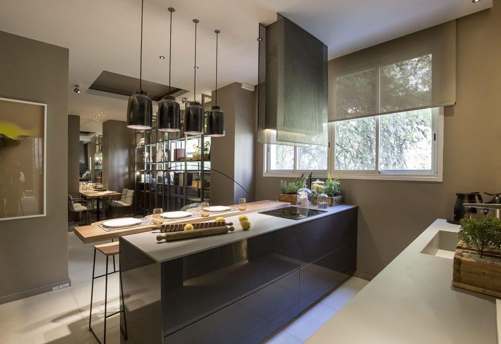 Cocina para un matrimonio con hijos, Diana y Eliana Gradel, Casa FOA Luis María Campos, 2017.