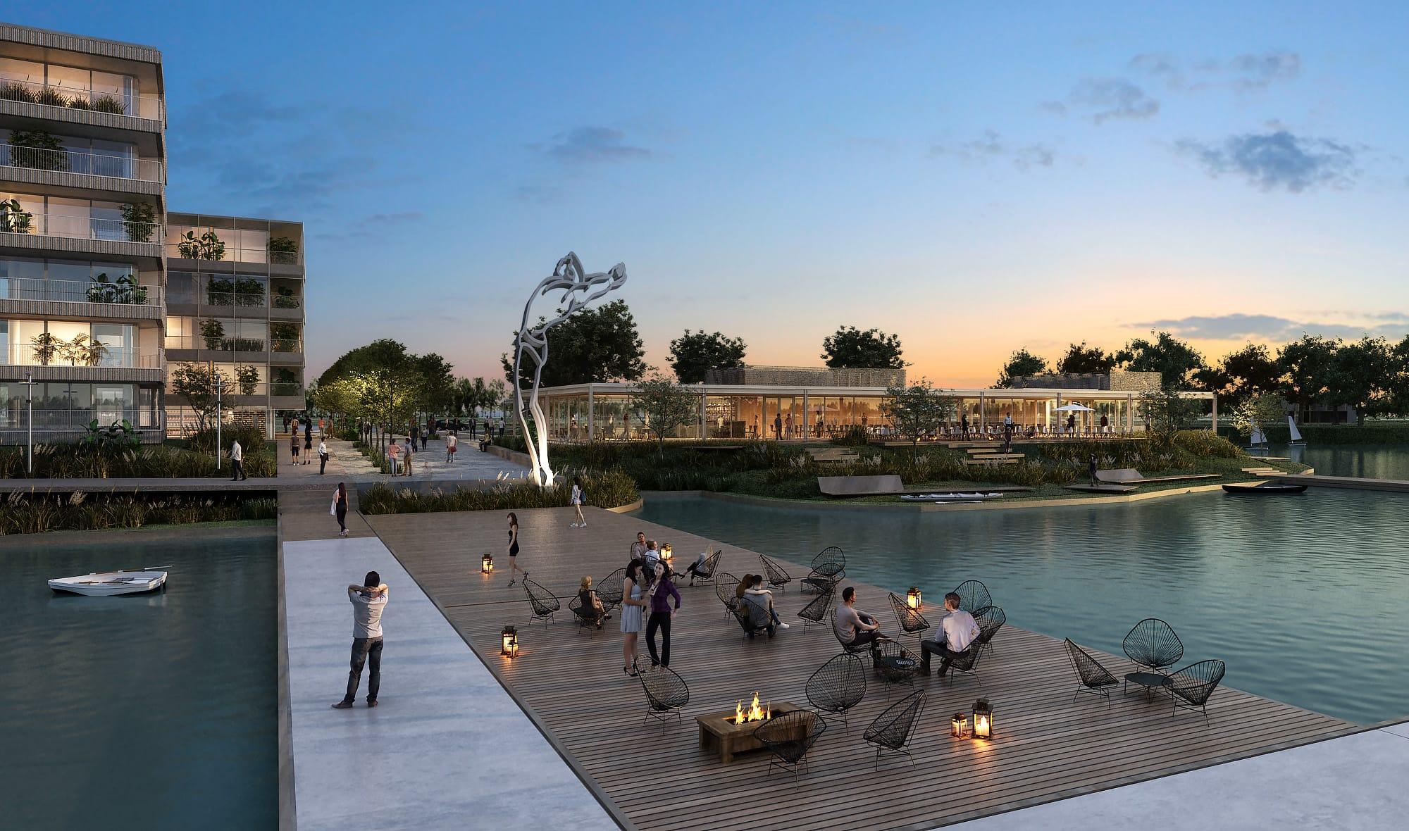 Experiencia Satélite Puertos, diseño frente al lago y un entorno natural