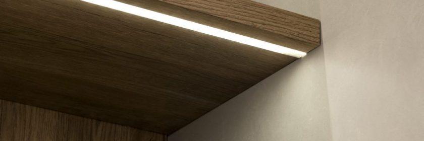 3945 Listello LED Embutible - Aluminio Anodizado - Ambientación