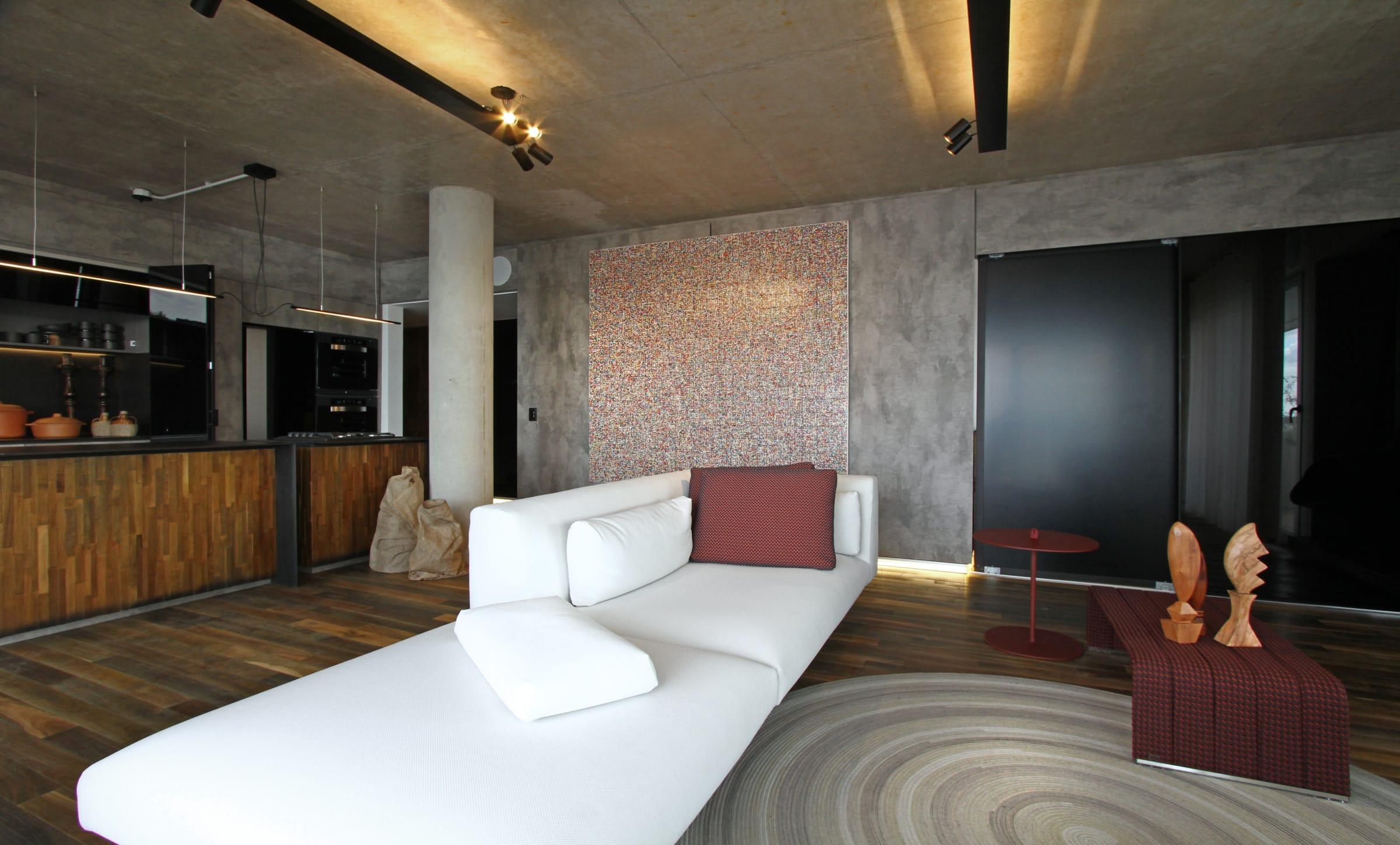 Los muebles son modulares y tienen fundas que se pueden cambiar para renovar su aspecto (Paola Lenti).